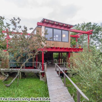 Summer home for rent in Fair Harbor Fire Island
