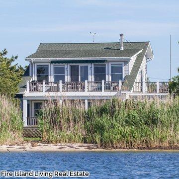 Fair Harbor Bay Front on Fire Island