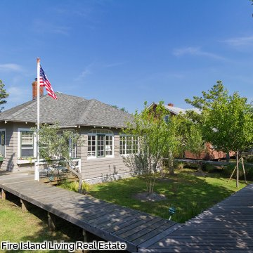 Saltaire Fire Island summer cottage available for rent