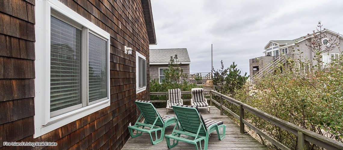 Vacation rental on Fire Island in Fair Harbor