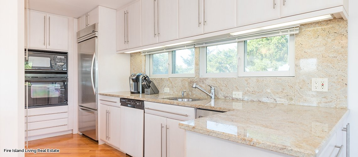 Clean and easy living in Fire Island beach house for sale in Saltaire