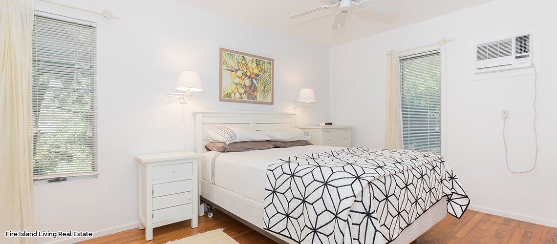 Bedroom # 2 Fire Island home for sale # 149 in Saltaire