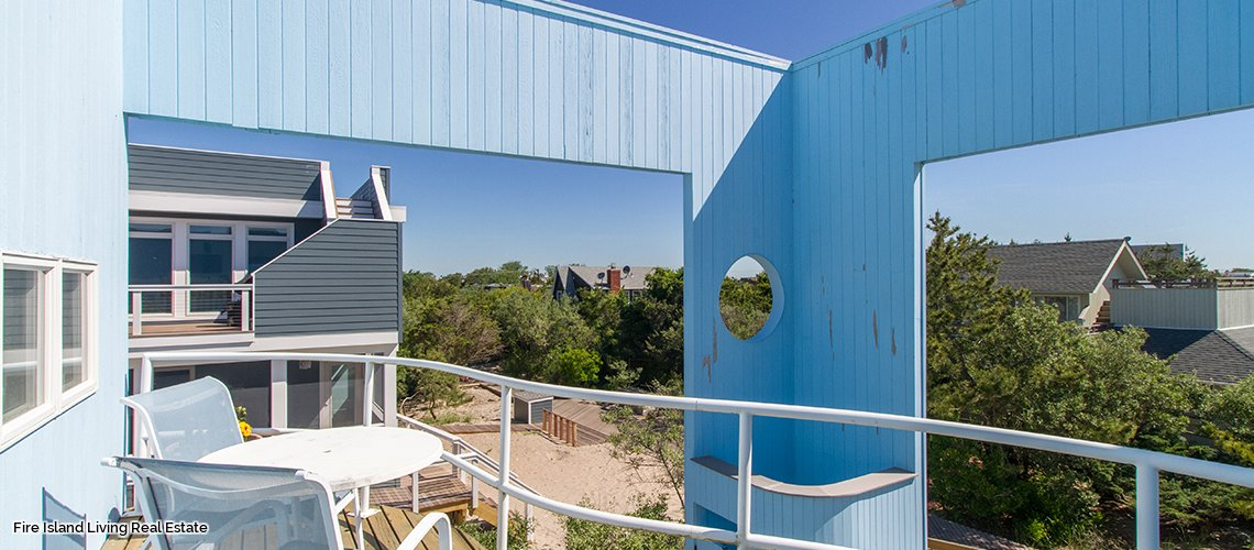 Decks galore in Saltaire Beach house # 152 for sale