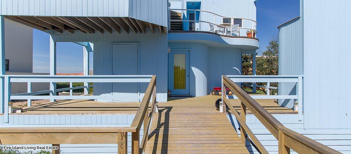 Saltaire Fire Island home for sale near the beach