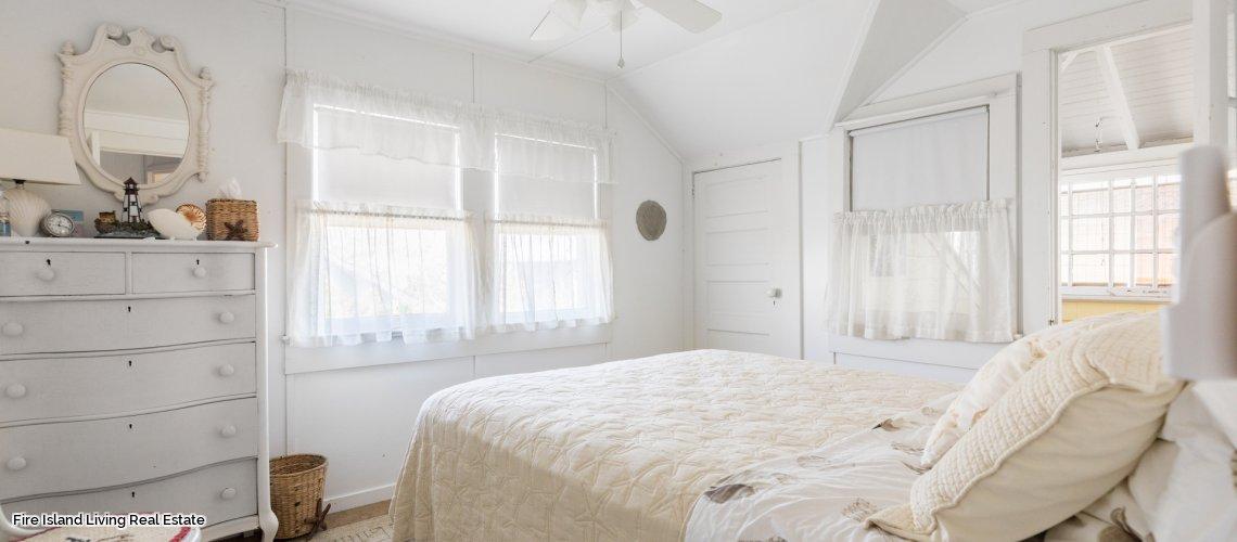 Bedroom # 2 in Saltaire Fire Island summer rental