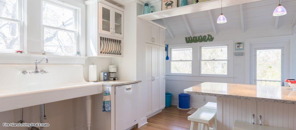Kitchen in beach house # 110 in Saltaire