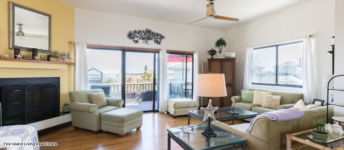 Saltaire Fire Island four bedroom house for rent