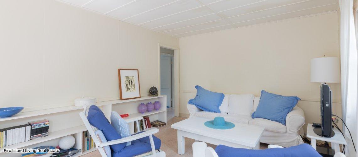 Fair Harbor living room in beach house # 10
