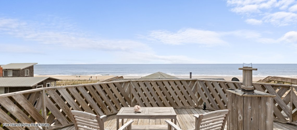 Beach Views from the roof of house # 65