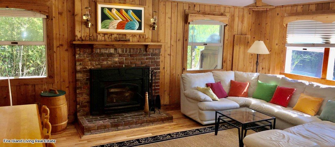 Fire Island beach house for sale in Kismet