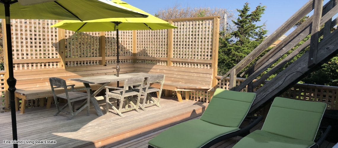 Fire Island summer vacation rental near the beach