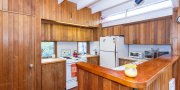 Open concept living in Fair Harbor Beach House