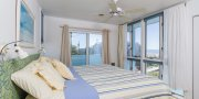 Master bedroom in Saltaire # 152 on Fire Island