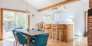 Saltaire Fire Island summer rental with a large yard