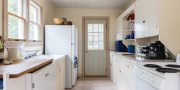 Fair Harbor kitchen in rental # 10 on Fire Island
