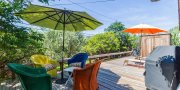 Outdoor dining Beach house # 24 in Lonelyville Fire Island