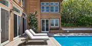 Pool Deck in Saltaire Home for Sale