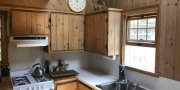 Galley Kitchen in Fire Island summer cottage for sale in Fair Harbor
